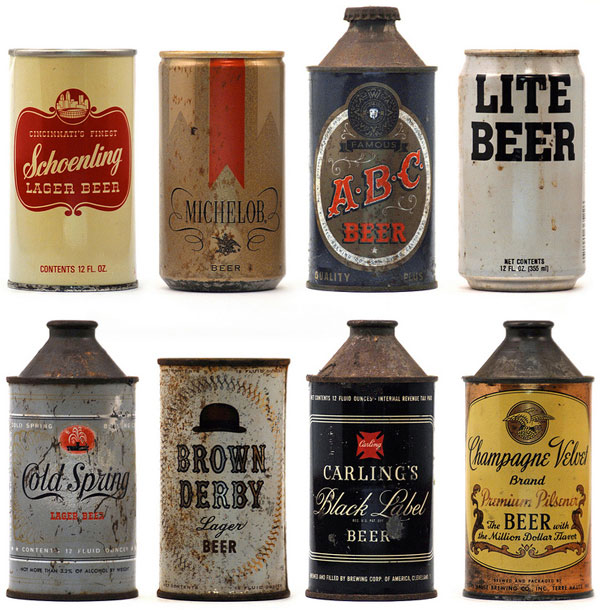 evolución de cerveza en lata