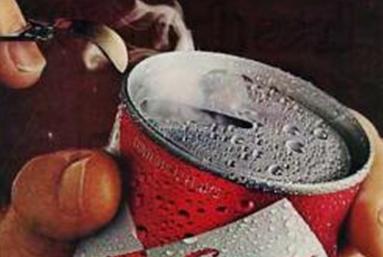 lata de cerveza con argolla