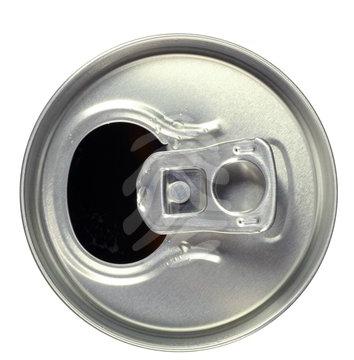 lata de cerveza con anilla