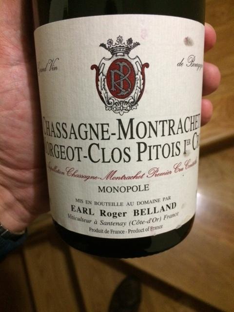 Belland Chassagne-Montrachet 1C Clos Pitois 09