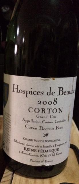 Hospices de Beaune Corton CG 08