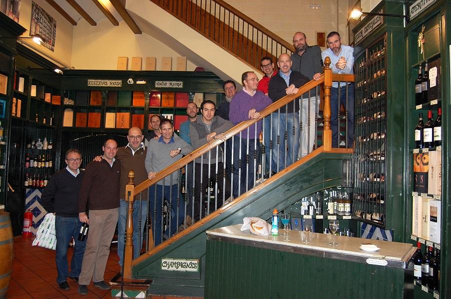 Foto de escalera, luego no estaremos tan tiesos.
