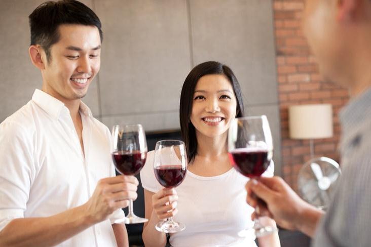 Los chinos prefieren el vino tinto
