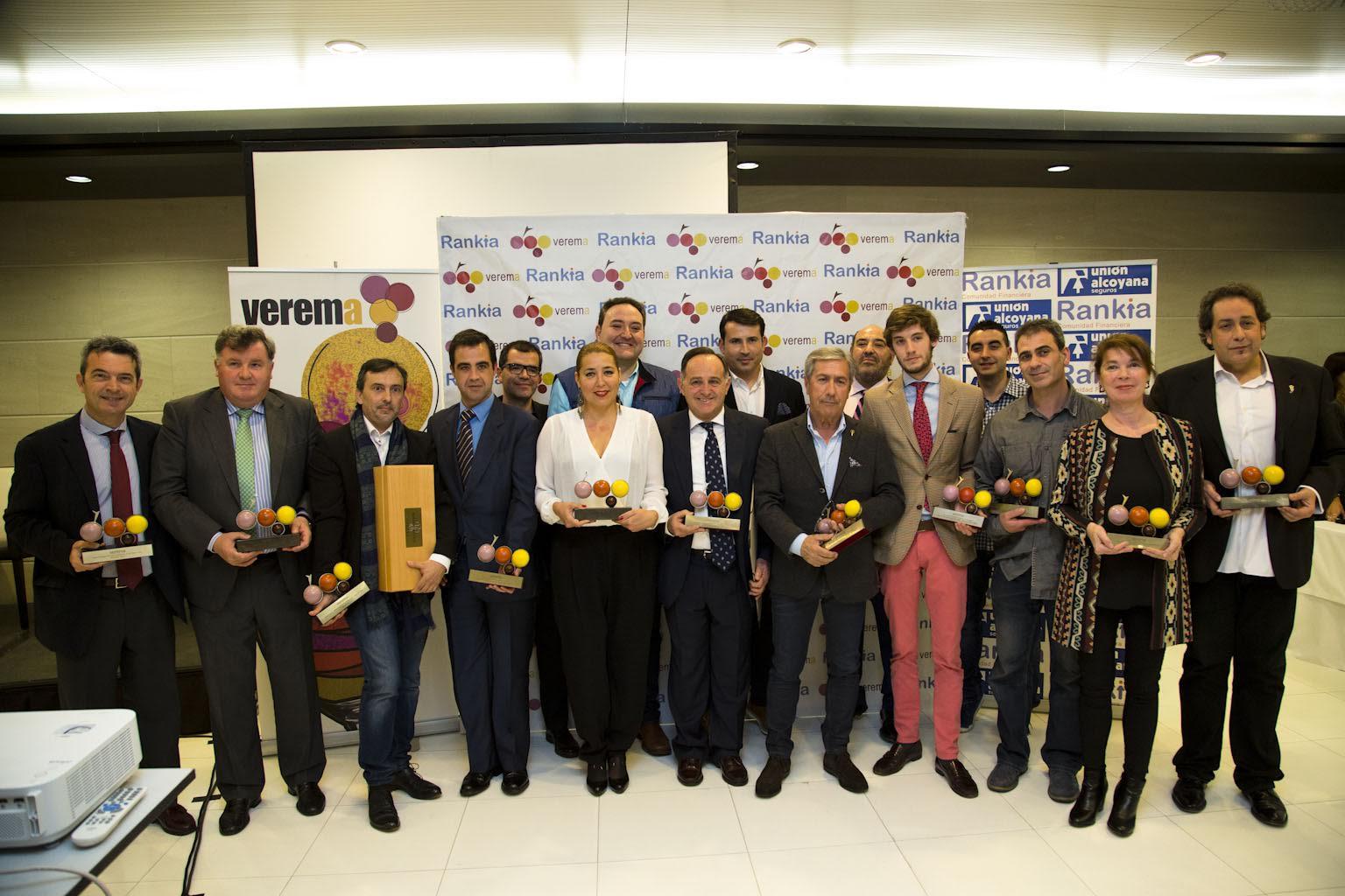 Ganadores Premios Verema 2015