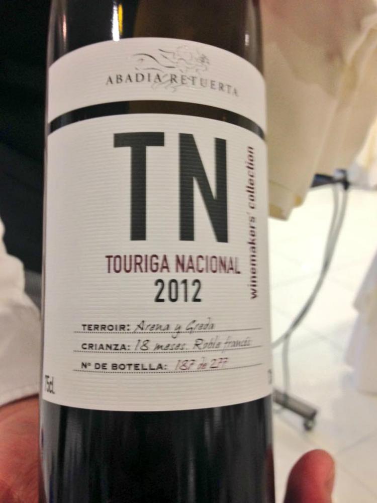 Vino Touriga  Nacional 2012