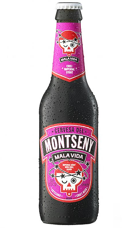 Cerveza Montseny Mala Vida Chili
