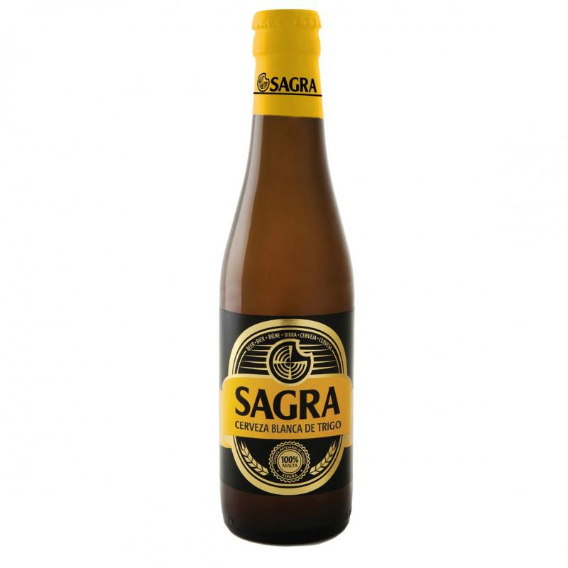 Cervez La Sagra blanca de trigo