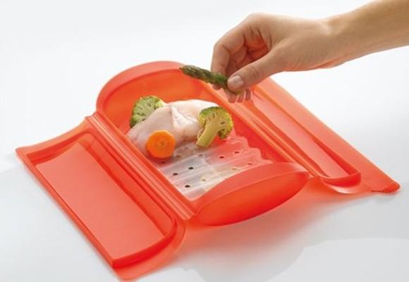 Platos de porcelana para el microondas for Recipiente para utensilios de cocina