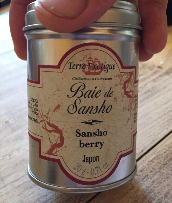 Pimienta japonesa sansho