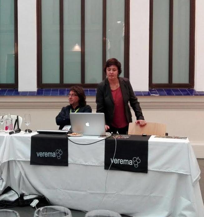 Se ha encargado de dirigir la cata de esta D.O. como inicio de la Experiencia Verema Málaga 2016