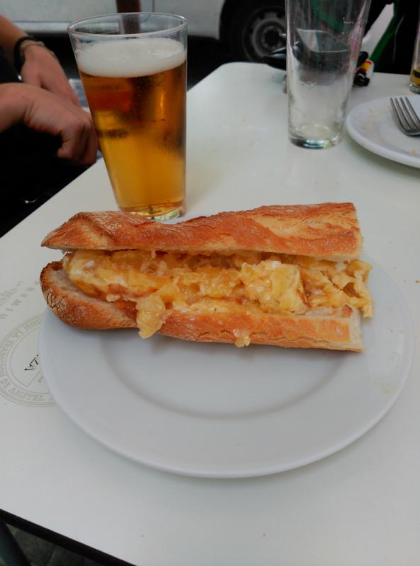 Mejor tortilla de patata de Valencia, bar Alhambra