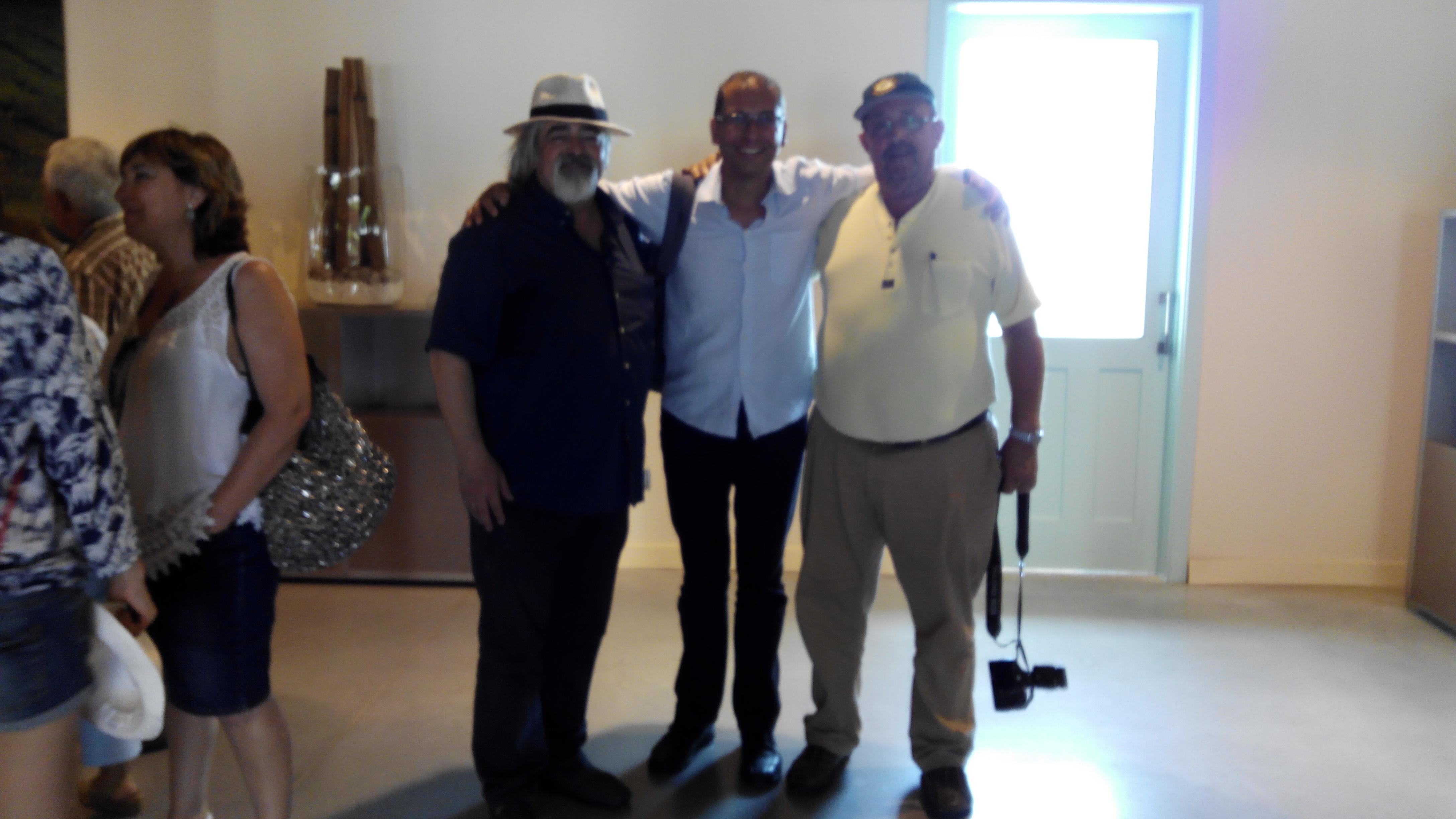 Con Luis Domenech y Luis Paadin