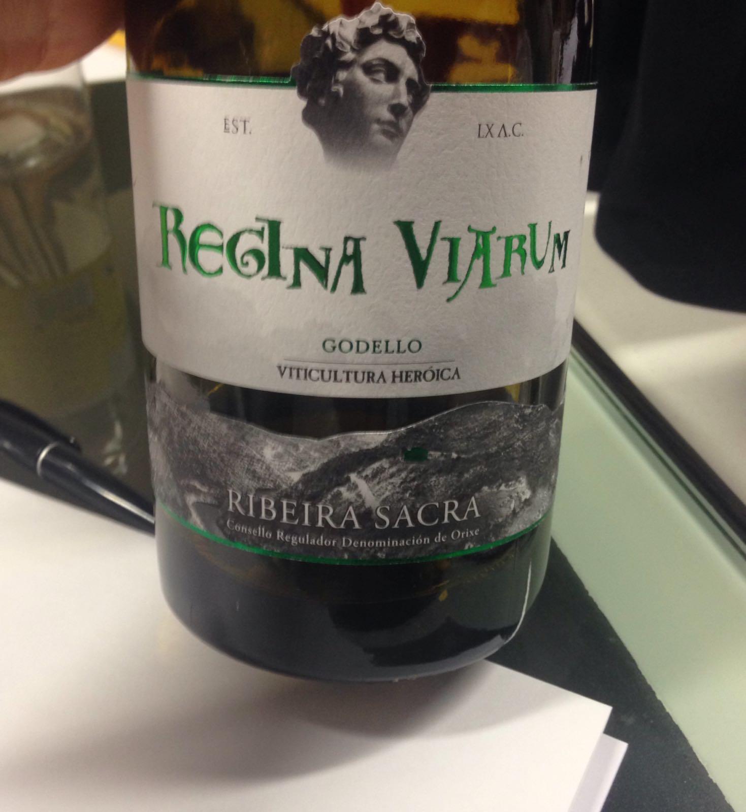 Vino Regina Viarum Godello
