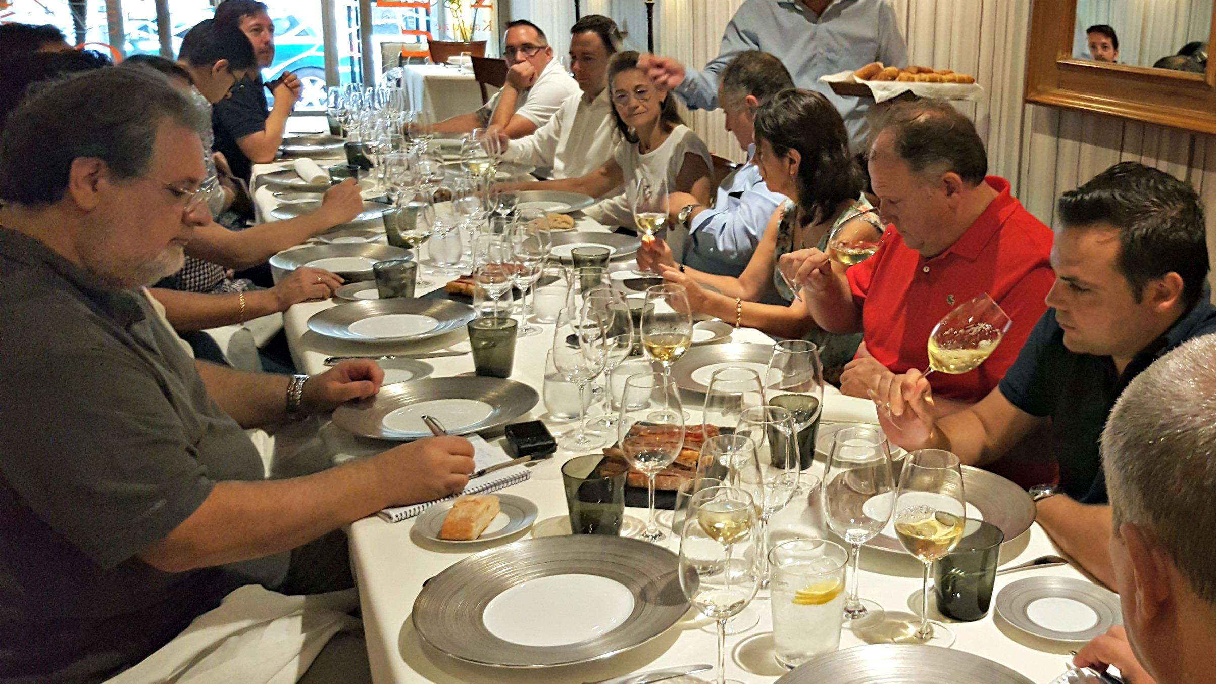 Comida-presentación con Miiguel Ángel de Gregorio