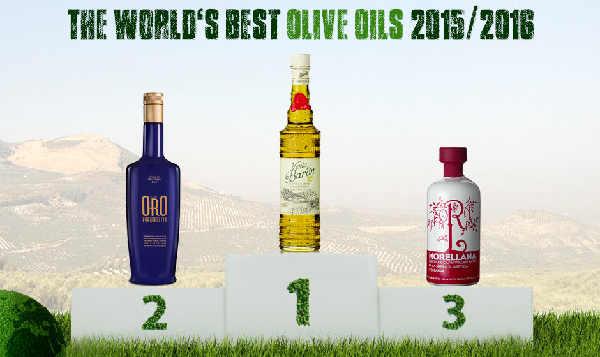Los mejores aceites del mundo 2016