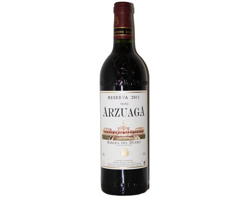 Cata virtual con el vino Arzuaga Reserva 2011