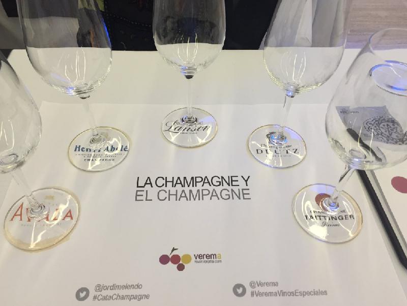 Cata de Champagnes
