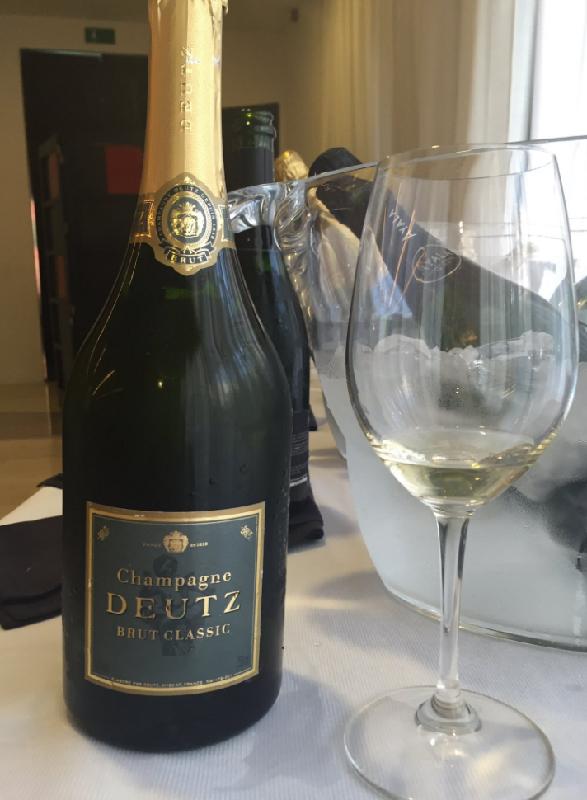 Champagne Deutz, un encantador gentleman