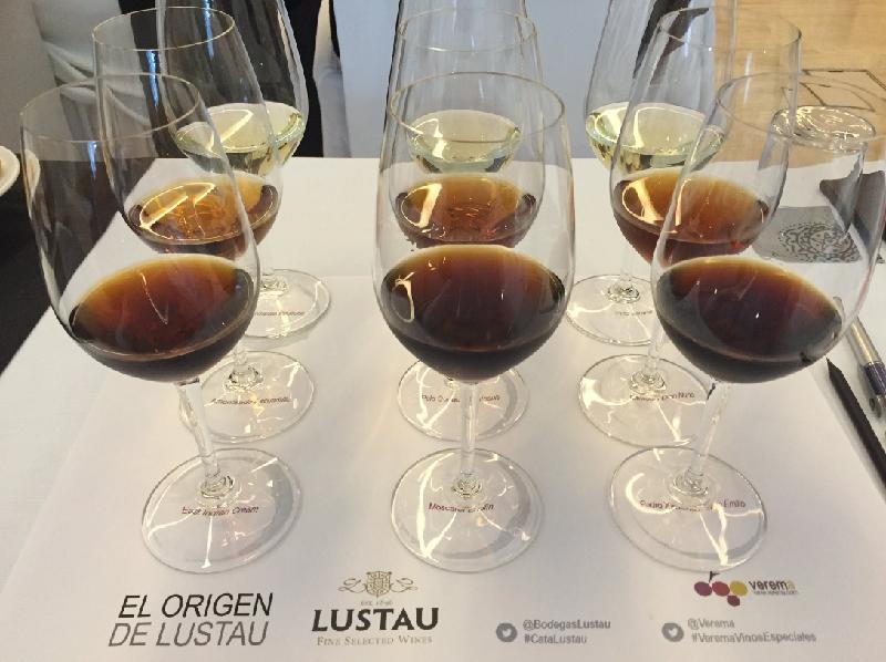 """#sherrylovers en la cata """"El Origen de Lustau"""""""