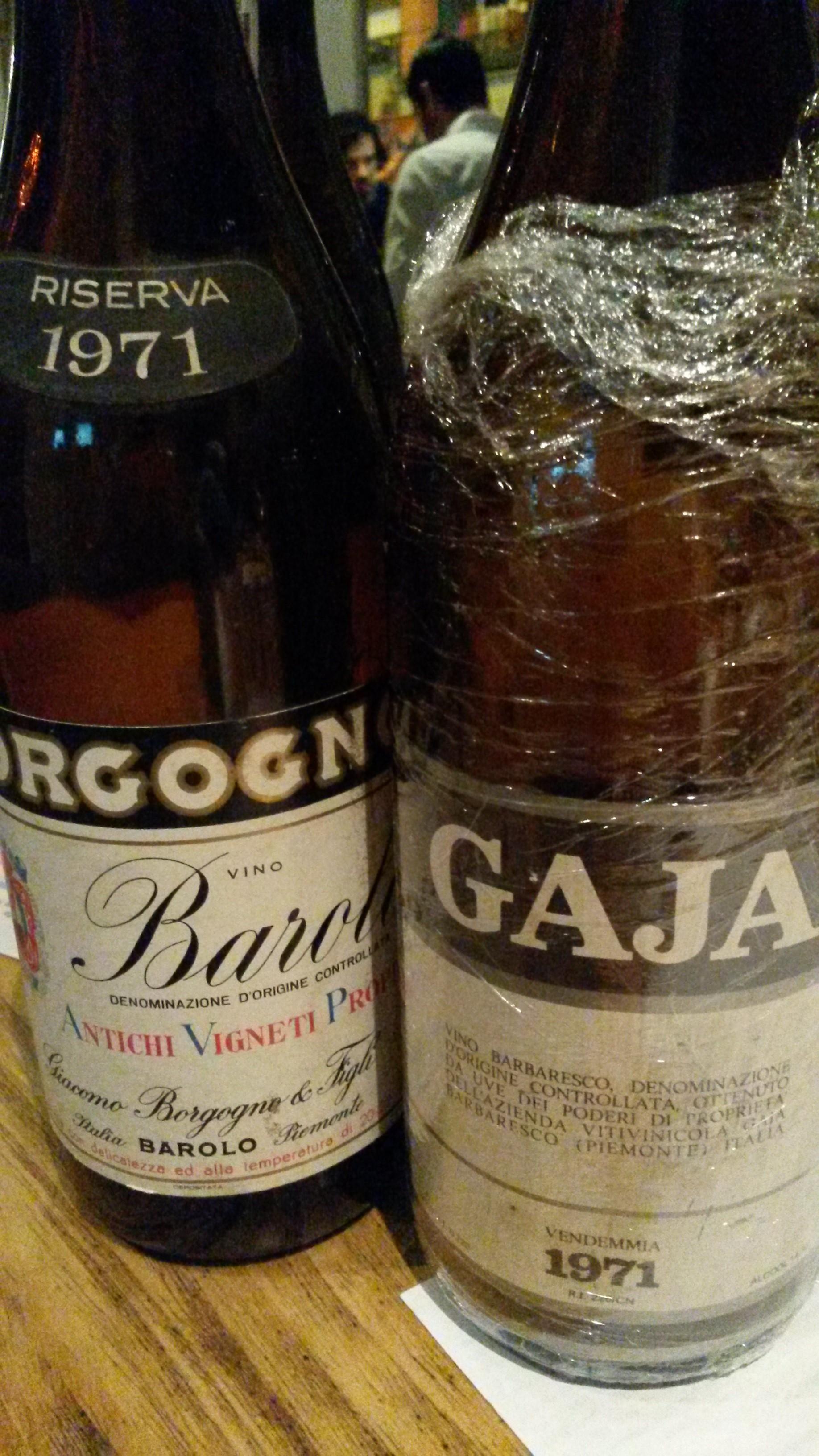 Gaja & Borgogno 1971