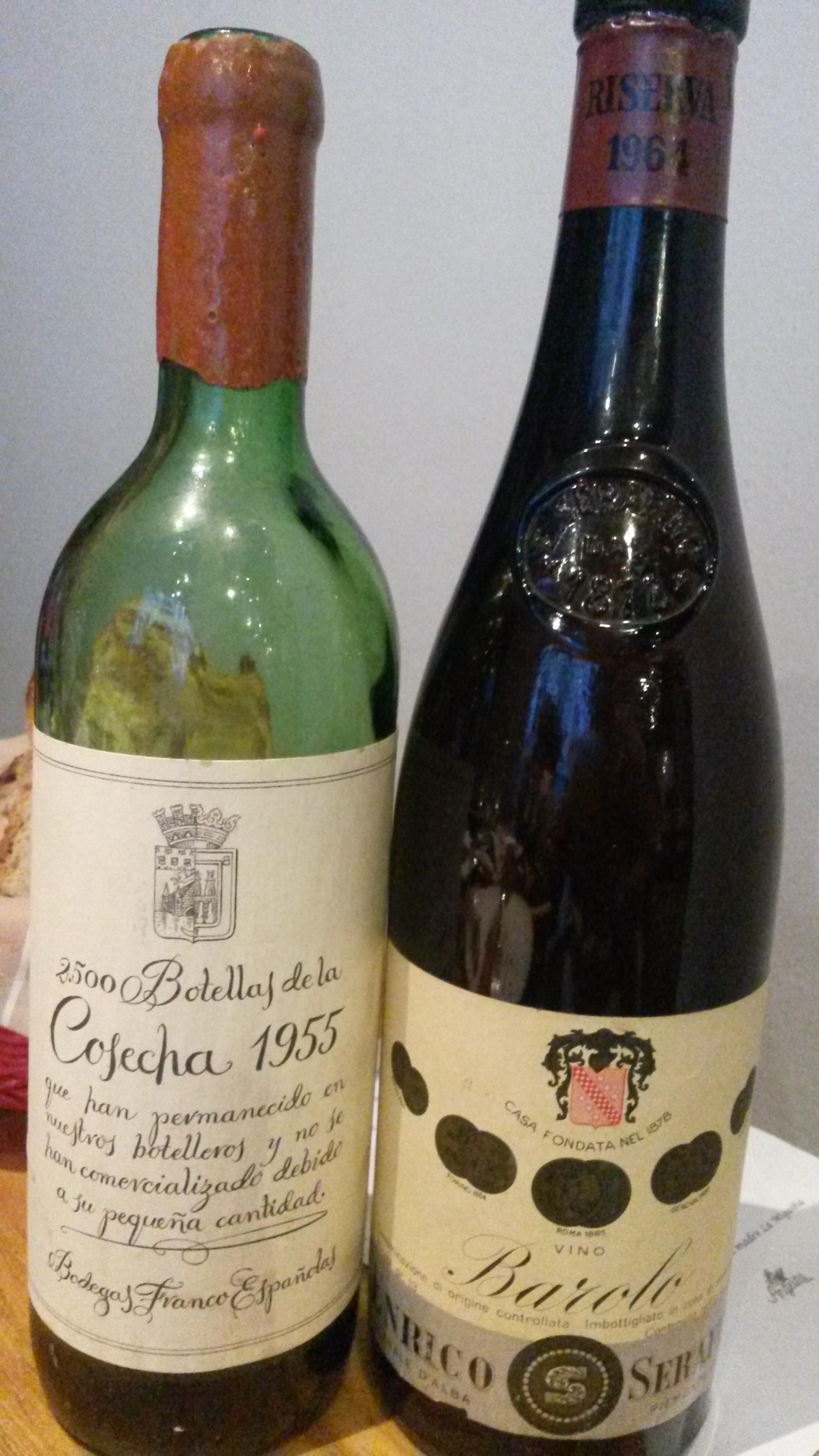 Serafino 1964 y Franco Españolas 1955