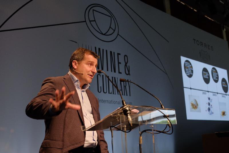 Josep Roca en el Wine Culinary Forum