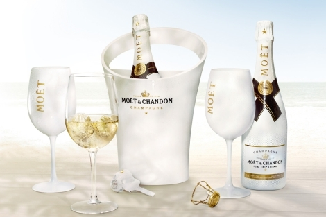 moet ice champagne con hielo