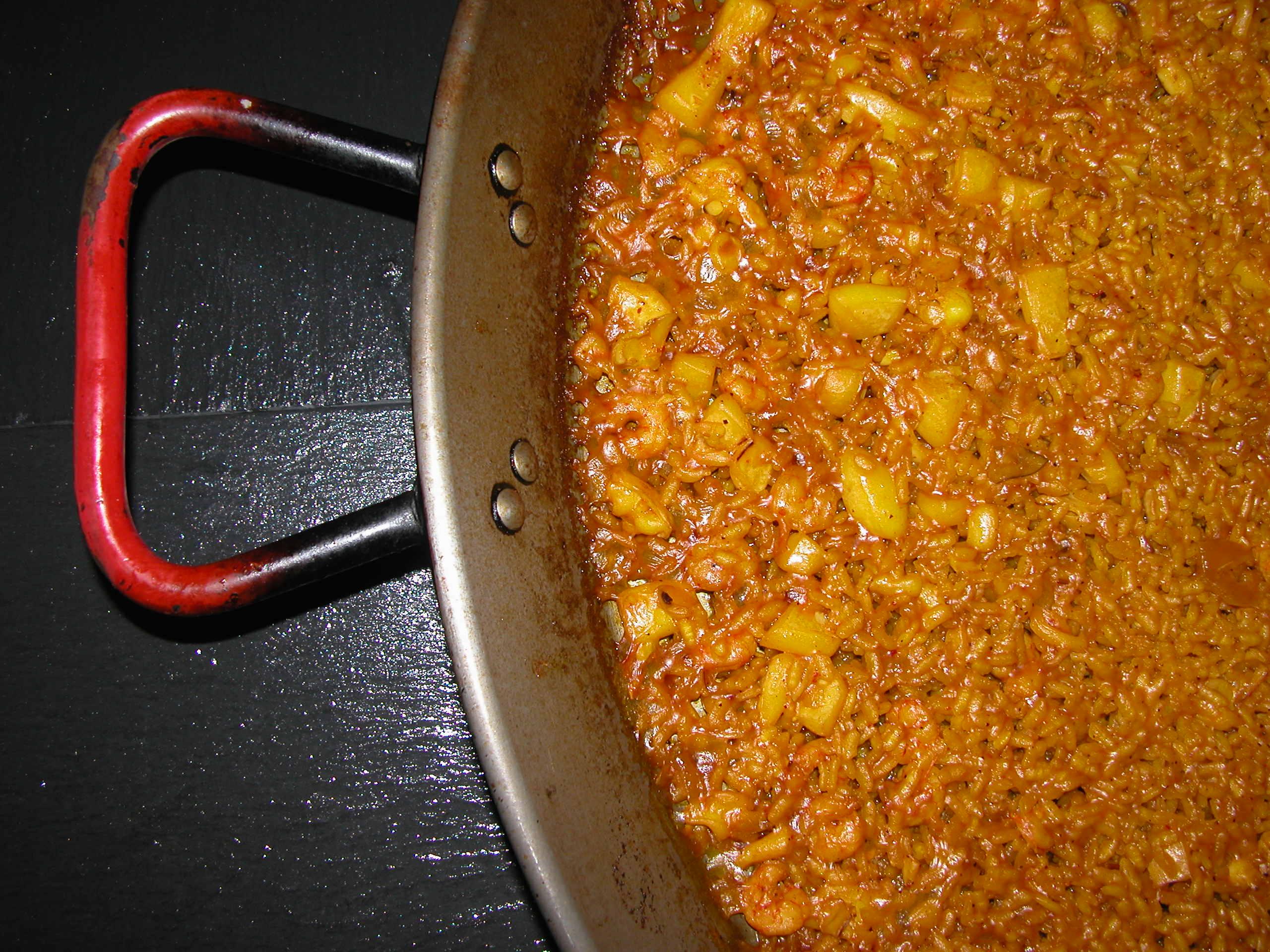 Comer arroz a banda en valencia
