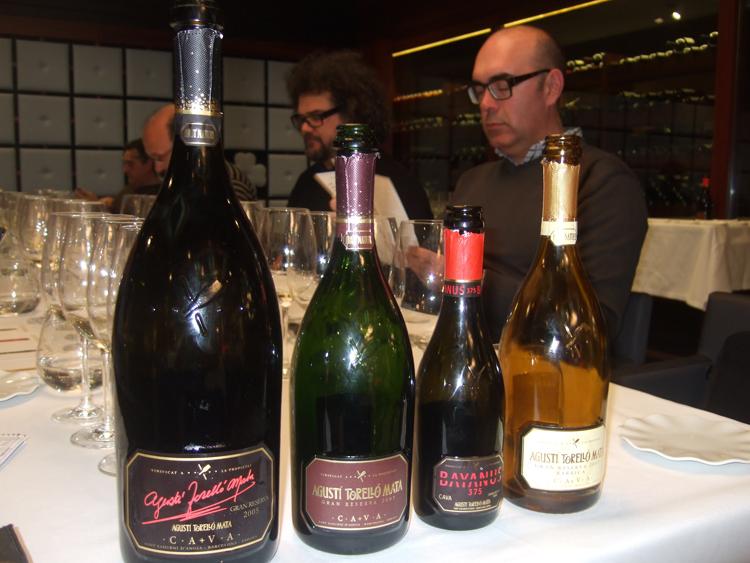 organizar cata de vinos tipo botella