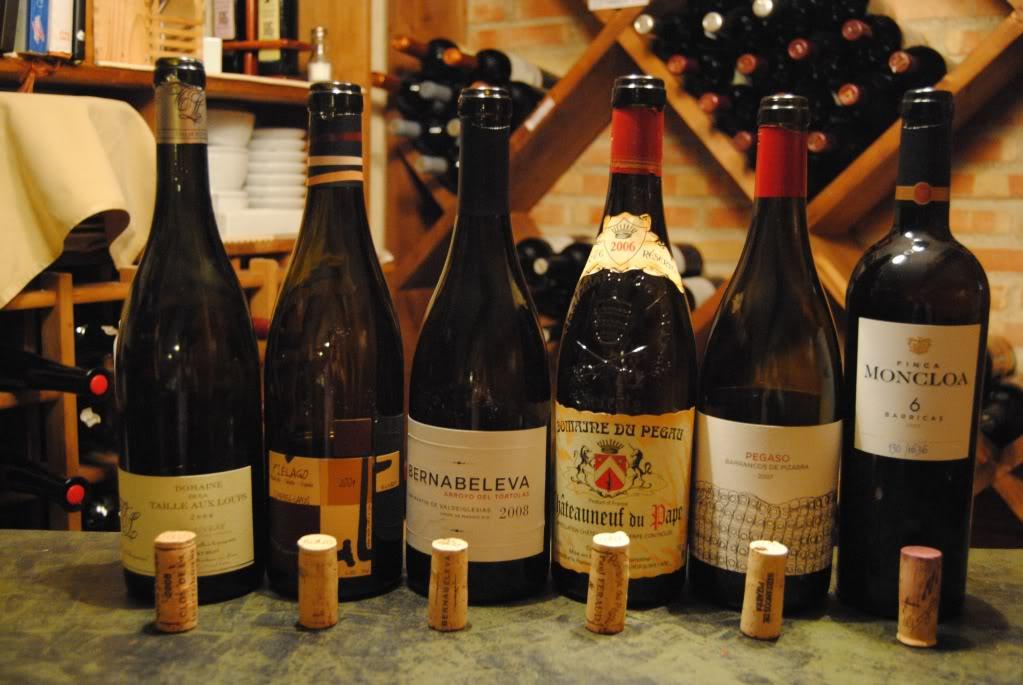 organizar cata de vinos rodano
