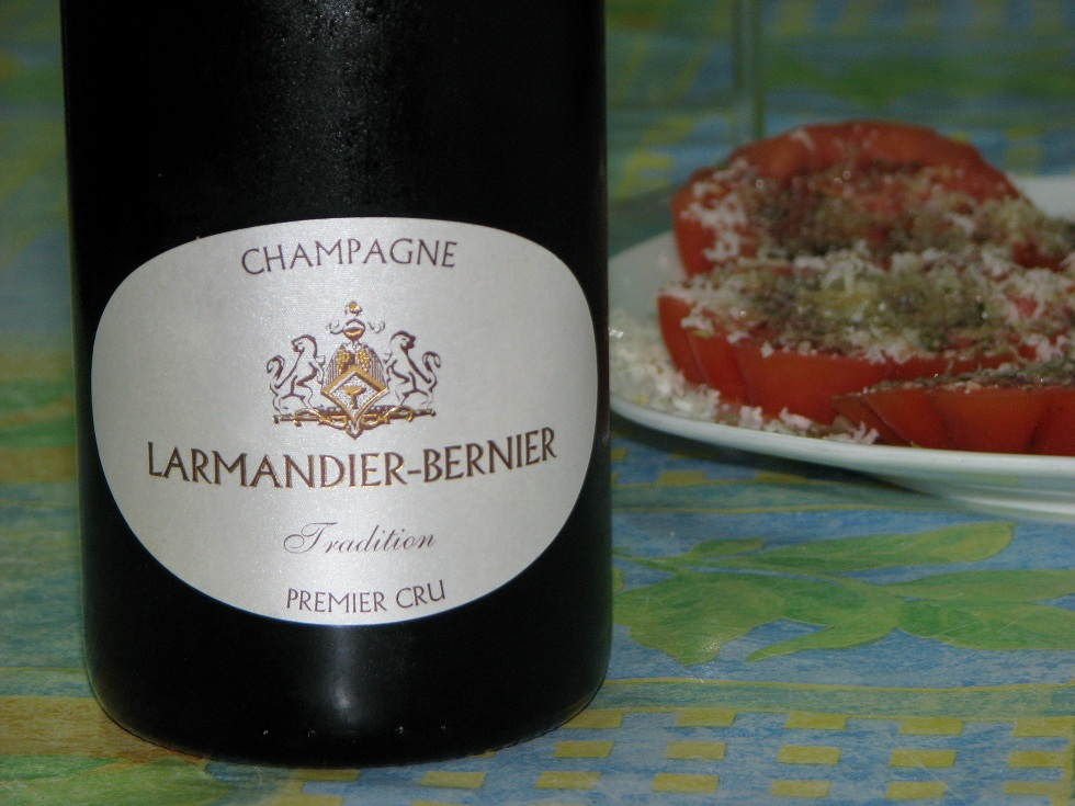 maridaje champagne