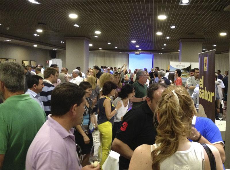 Durante la presentación en Murcia