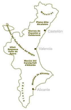 aceites comunidad valenciana denominaciones origen