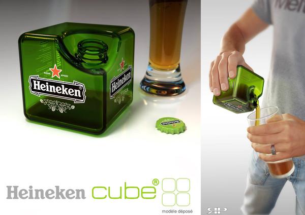 Heineken-cube