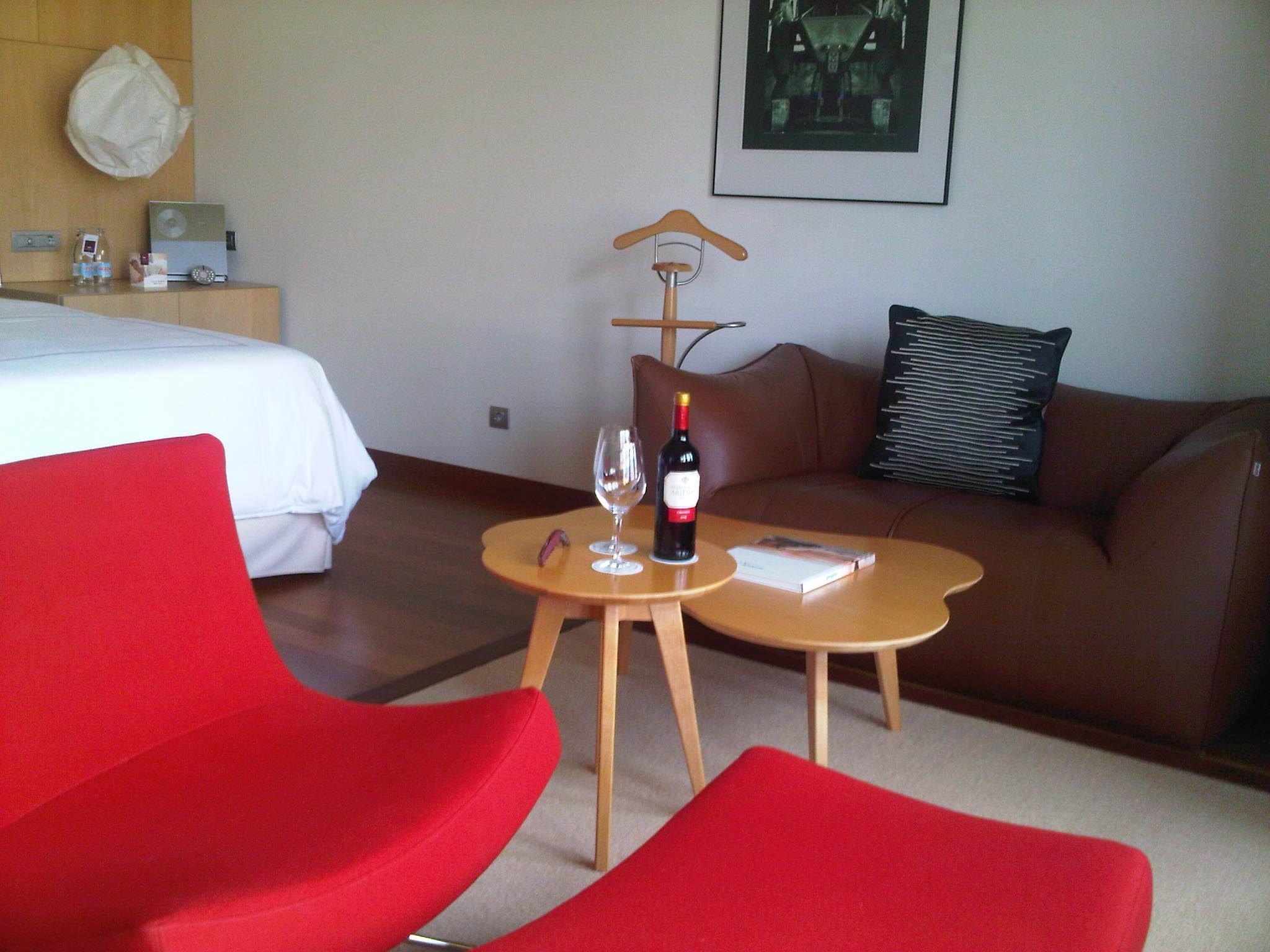Hotel Marqués de Riscal. Habitación.