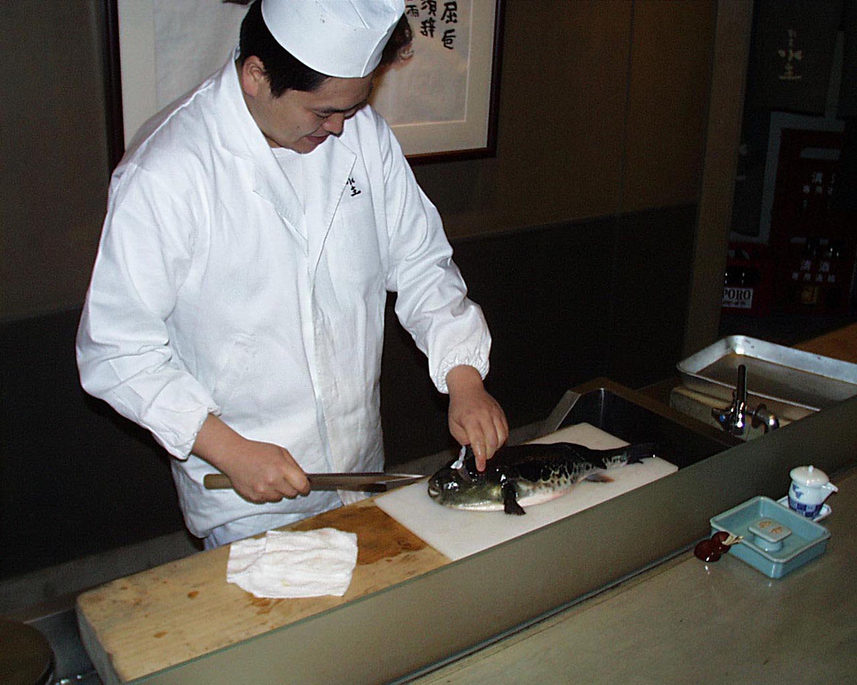 Resultado de imagen para preparacion del fugu