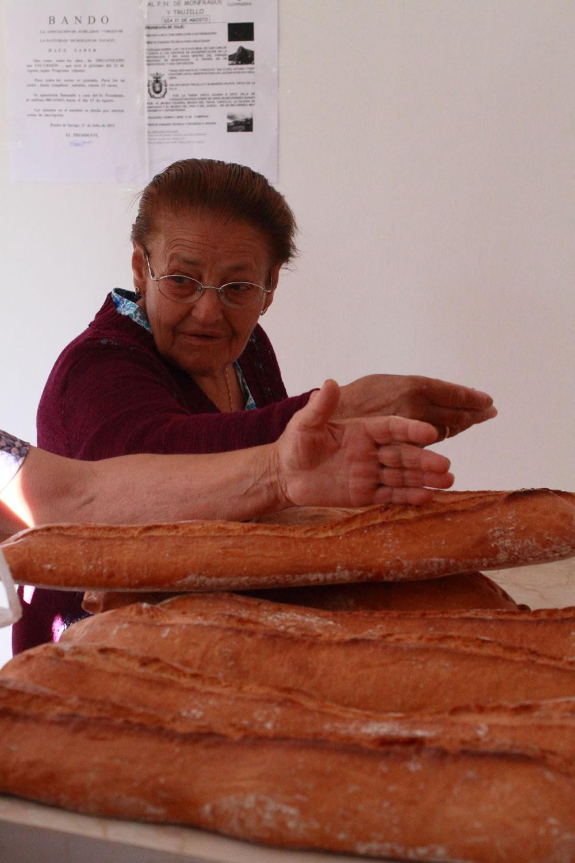 Clientas en la panadería