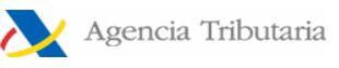 AGENCIA TRIBUTARIA- ESPAÑA