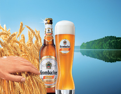 Krombacher Weizen Bier