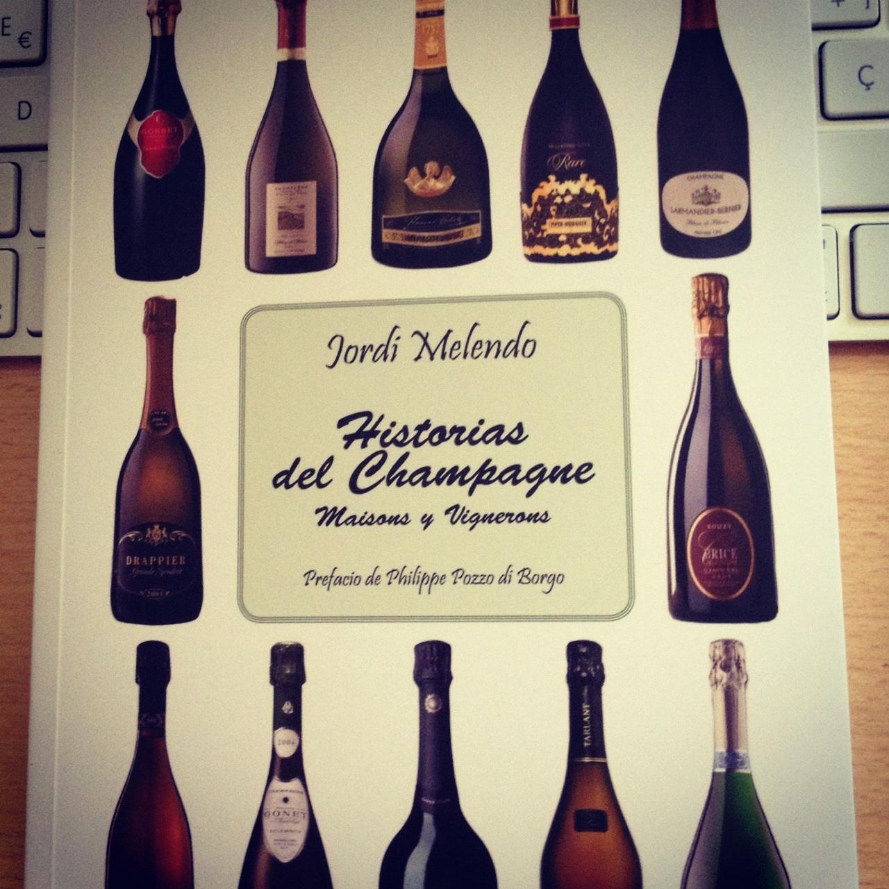 Jordi melendo champagne libro
