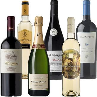 lote de club de vinos verema diciembre