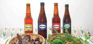 Cerveza elaborada a base de algarroba