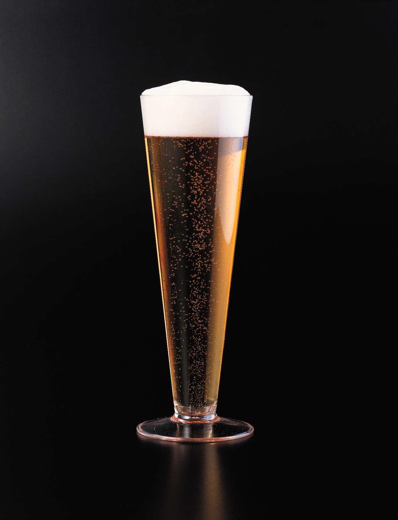 Vaso de cerveza de Flauta Pilsner