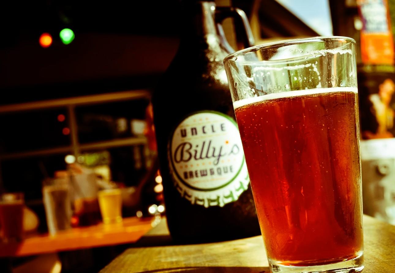 Vaso de cerveza Pinta Americana