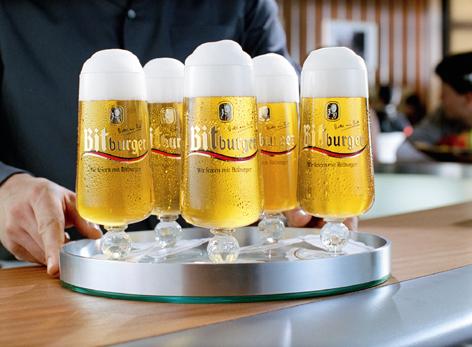 Vaso de cerveza Pokal