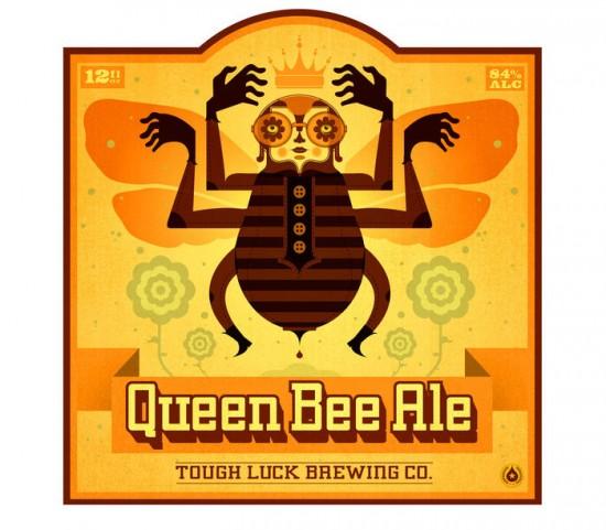 etiquetas-cerveza-queen-bee-ale