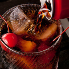 Cóctel sin alcohol Roy Rogers