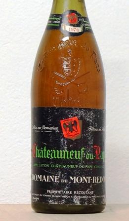 Chateauneuf du Pape 1976 - Blanco