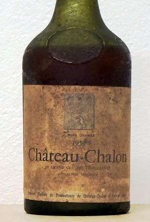 Chateau Chalon - Grand cru vin Jaune 1959