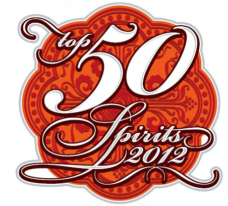 Sello Wine Enthusiast Top 50 Licores y destilados